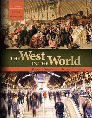 The West in the World By Sherman, Dennis/ Salisbury, Joyce